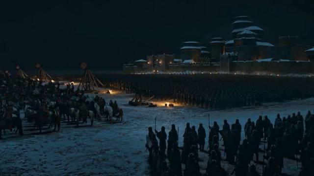 《权游》终季第3集解析战前人类的排兵布阵