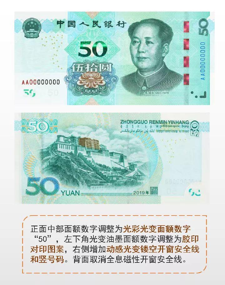 新版第五套人民币来了!有大变化!