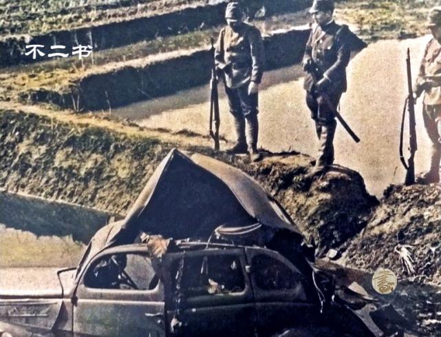 上色老照片:镜头下一路入侵的日军,这些色彩展现了恶魔的模样