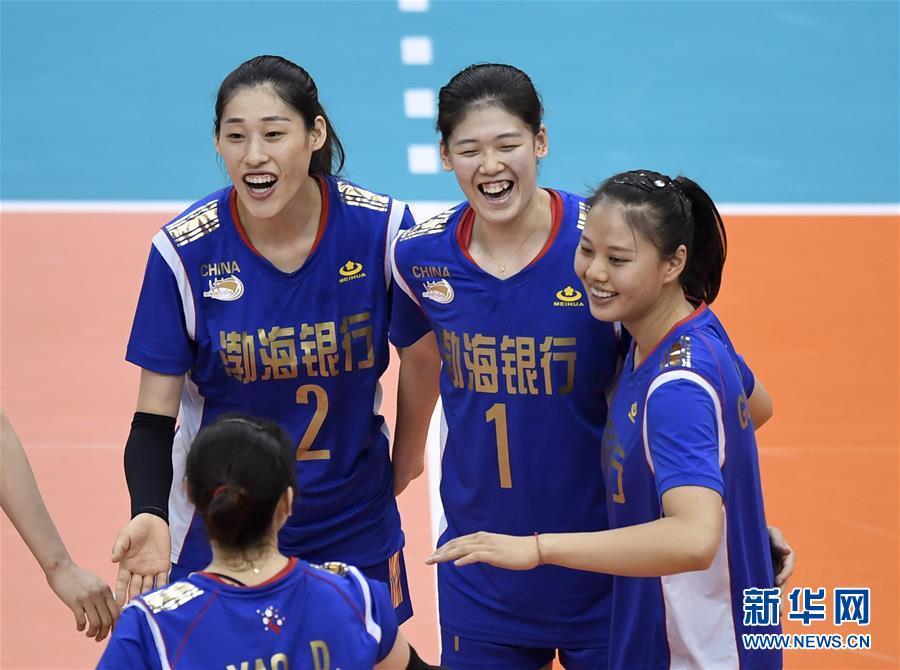 亚俱杯:天津女排胜中国台北
