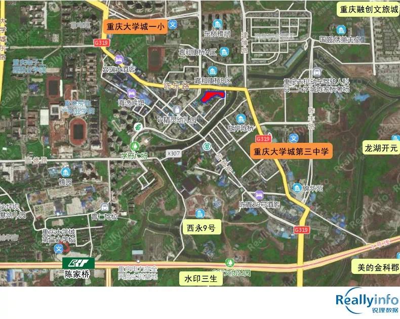 主城新增76亩商住用地 西永、大渡口地块上线