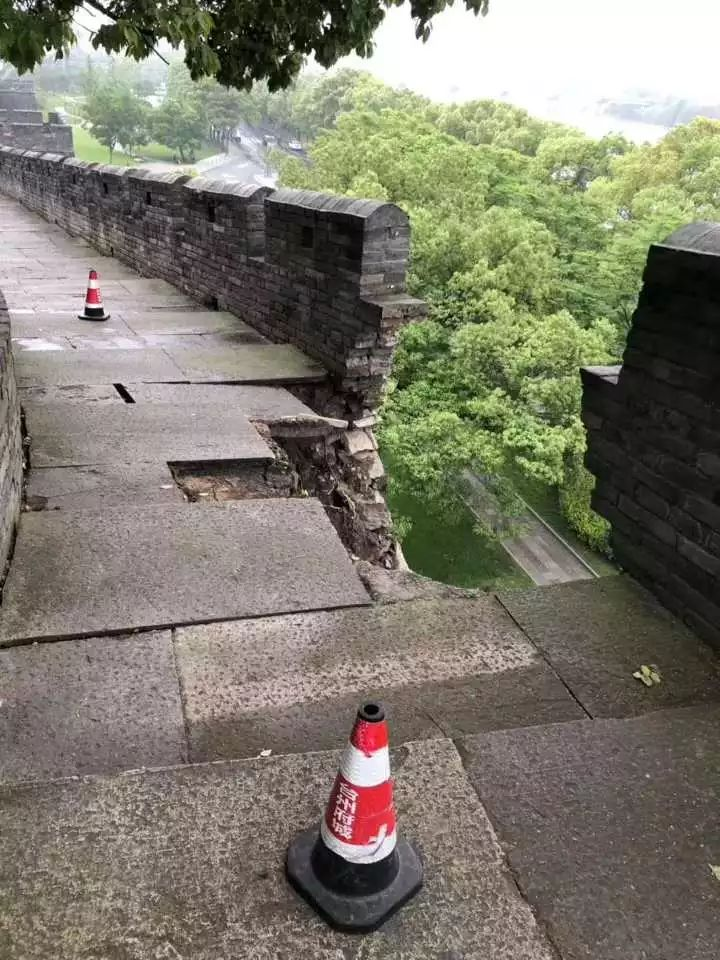 <b>临海古长城发生坍塌,这回孟姜女不背锅</b>