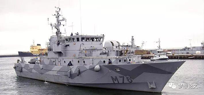 瑞典兰德索尔特级猎雷舰