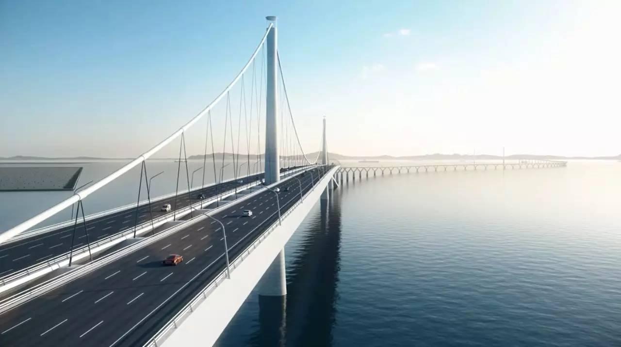 中国在建的一座世界级跨海大桥,斥资500亿打造,预计2024年建成