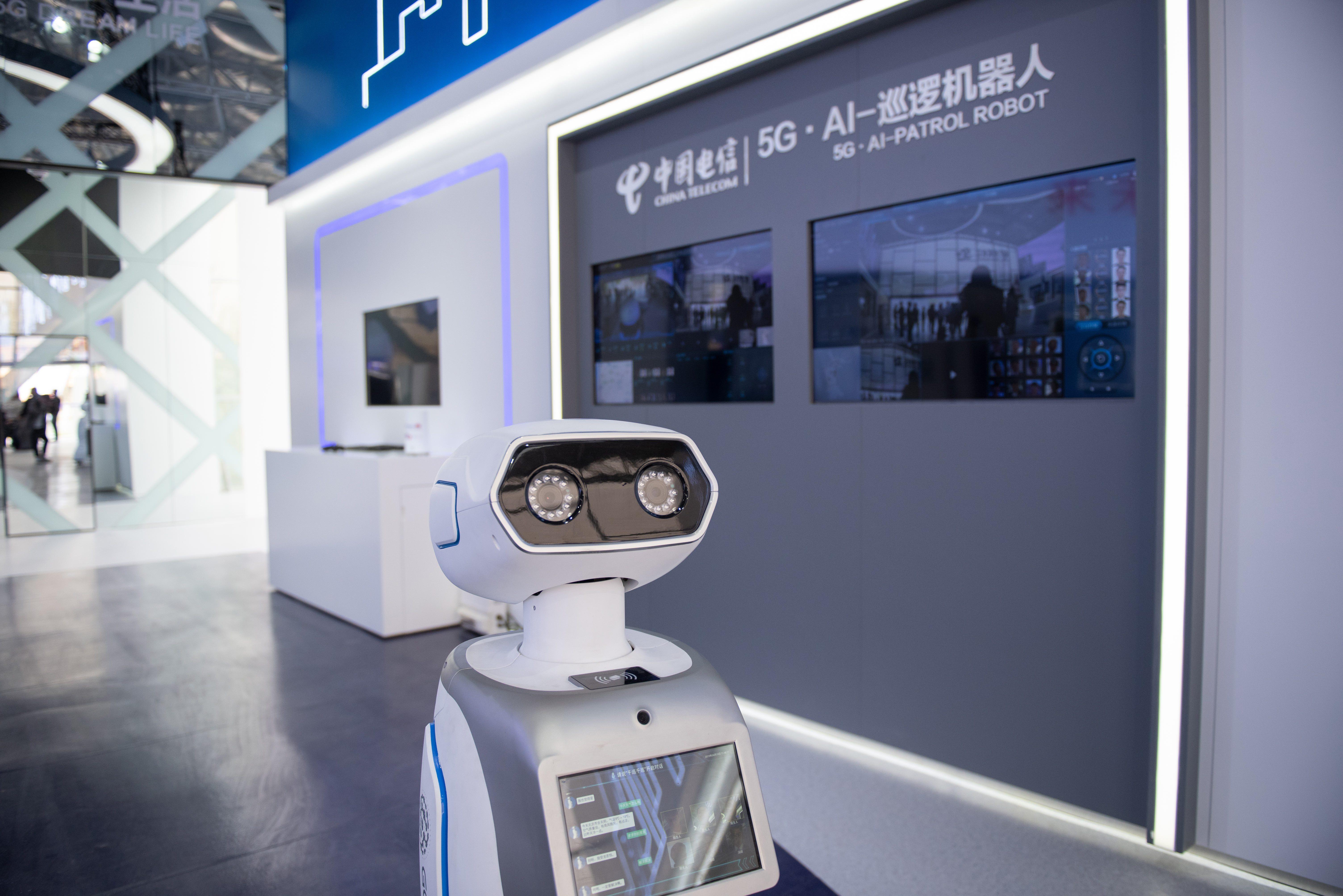 北京世园会中国电信5G馆探秘