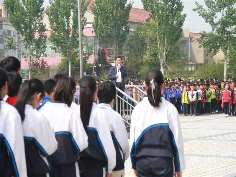"""周村区城北中学:扎实做好""""五一""""假前学校安全工作"""