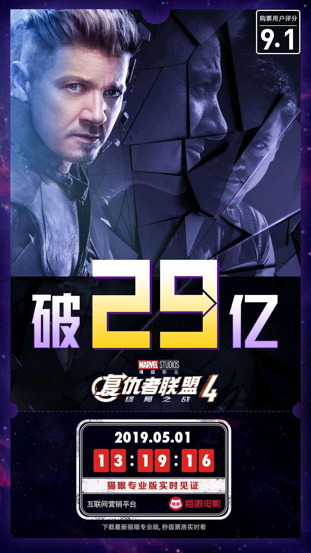 《复联4》票房破29亿,钢铁侠竟是最早剧透的人?