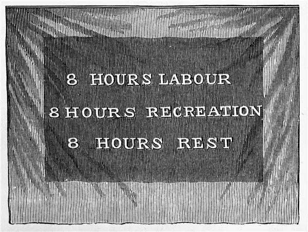 为争取8小时工作制,19世纪的西方工人拼尽全力