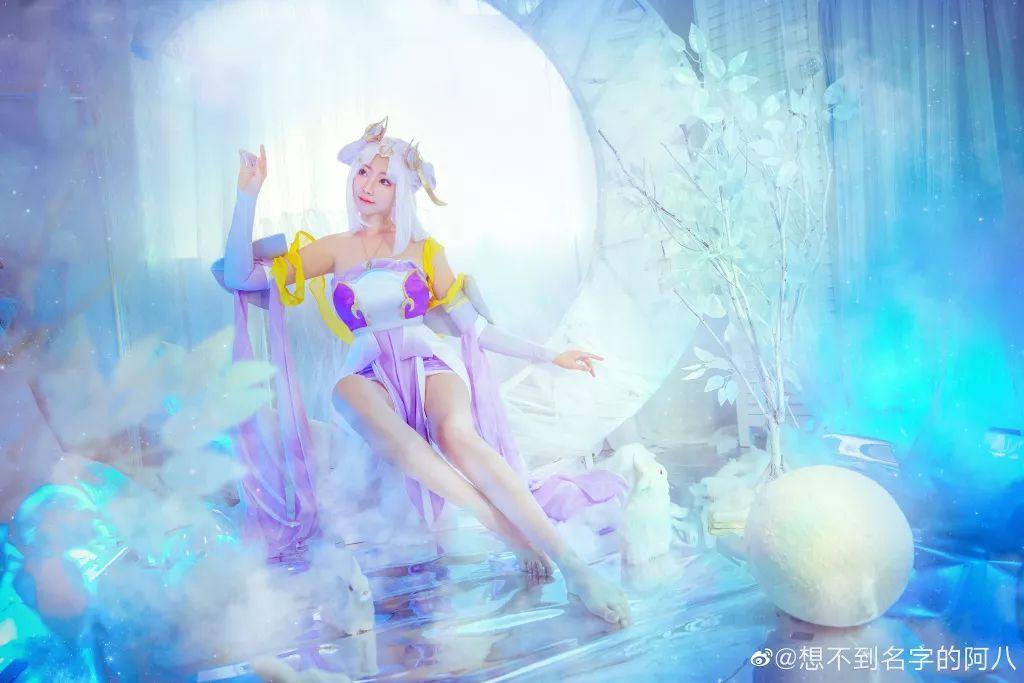 王者荣耀cos 嫦娥真不愧是上天的仙女
