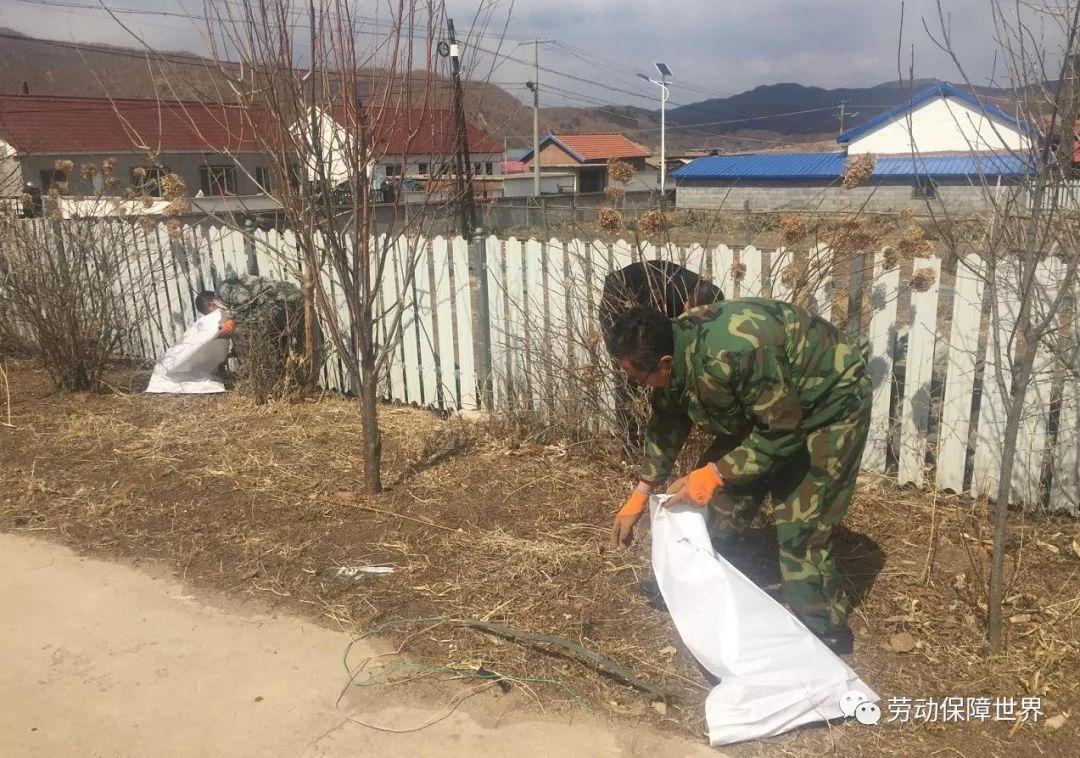 安图县就业服务局开展农村环境卫生整治助力脱贫攻坚活动