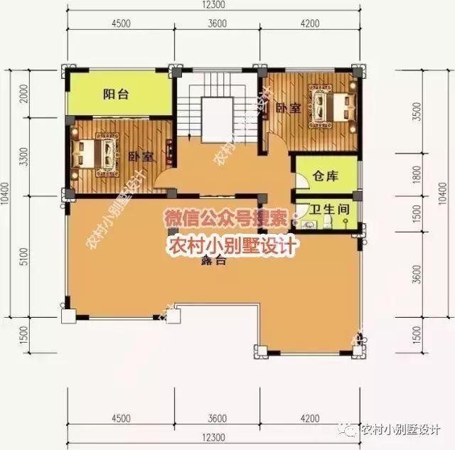 2套新农村别墅设计图,一套精致一套大气,你选哪个