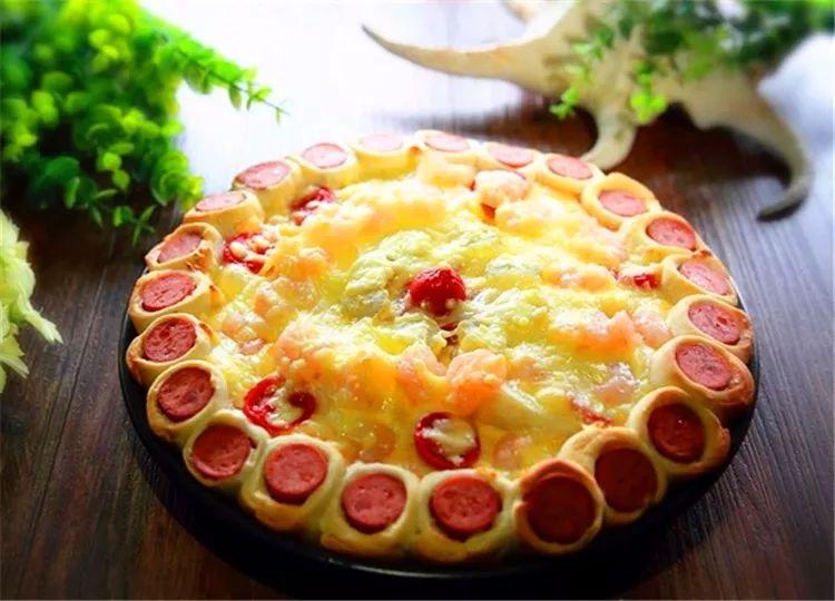 9寸花边水果披萨,有了这个配方,可以自由DIY,做出自己心底最想要的味道!