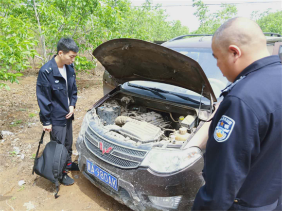 德孝中华周刊:又一被盗车折戟河北赞皇交警大队