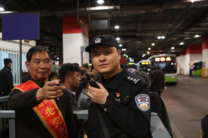 北京公交警方全力做好五一小长假安保工作