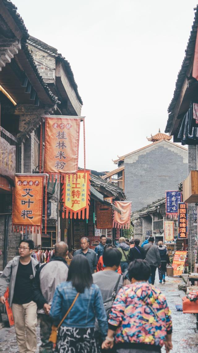 漓江已经这么美了 这个古镇却更美