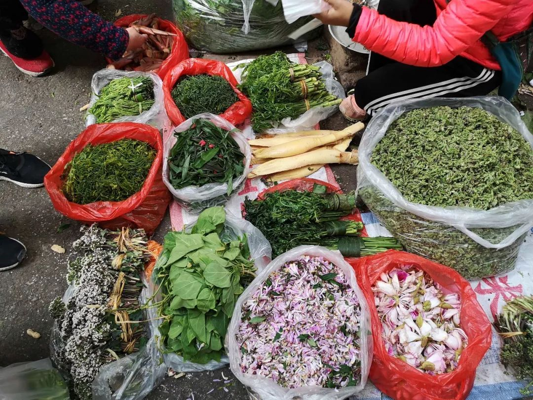 云南的菜市场有什么不同?逛了一圈让人眼界大开,几乎都不认识