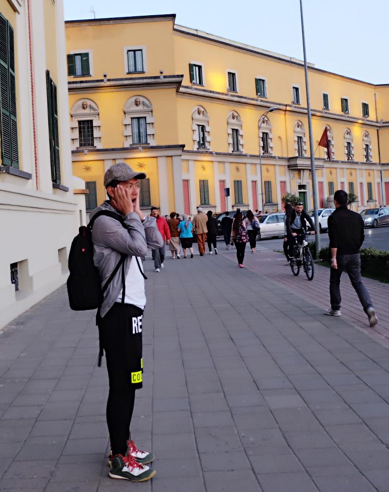 小天独家,漫步阿尔巴尼亚的古城