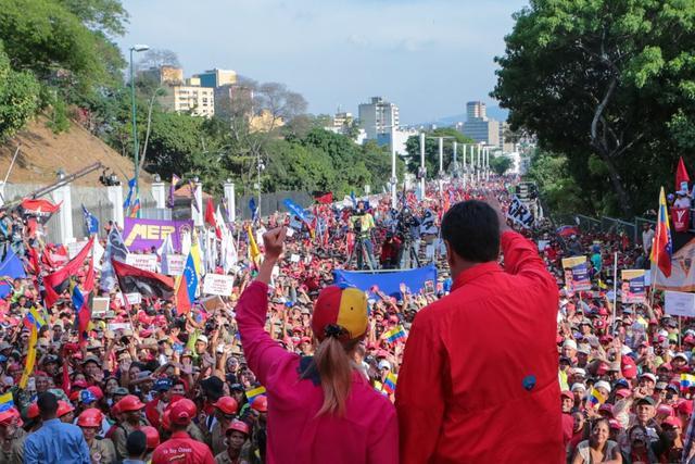 马杜罗:委内瑞拉人民不要自相残杀,想当总统必须赢得大选