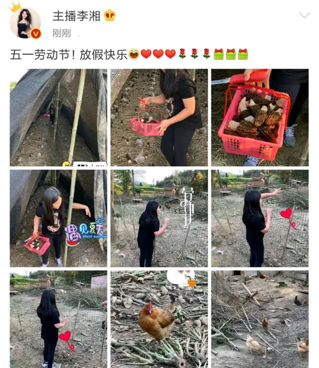 李湘晒女儿跟着刘欢学弹钢琴,网友笑称两人很有父女相!