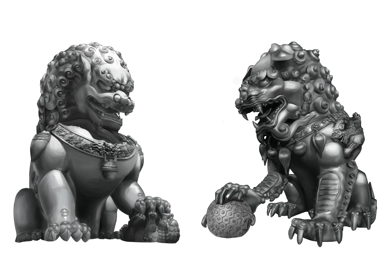 中国在古代并没有狮子,为何古人能雕刻出石狮子?
