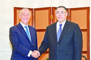 曾占领澳门112年的葡萄牙,现任总统昨天到访澳门,他讲了哪些话?