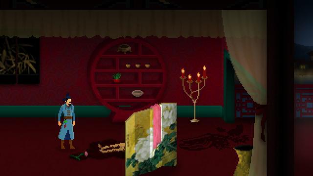 加拿大制作解谜游戏《狄仁杰之锦蔷薇》Steam今日发售