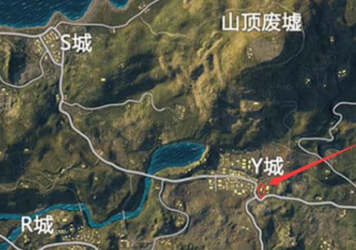 绝地求生 刺激战场 海岛地图最佳蹲点狙击位置介绍图片