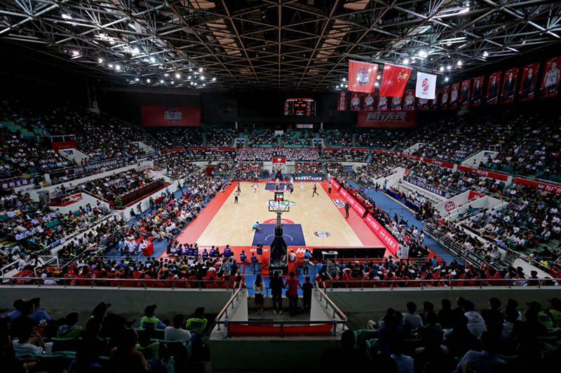 CBA唯一一支! 广州男篮正式运营天河体育馆