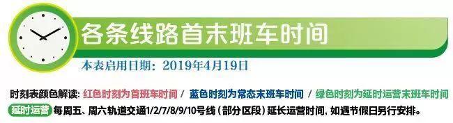 注意!今明两天,上海一大波轨交线延时运营!文末有各条线路实用干货,请收藏