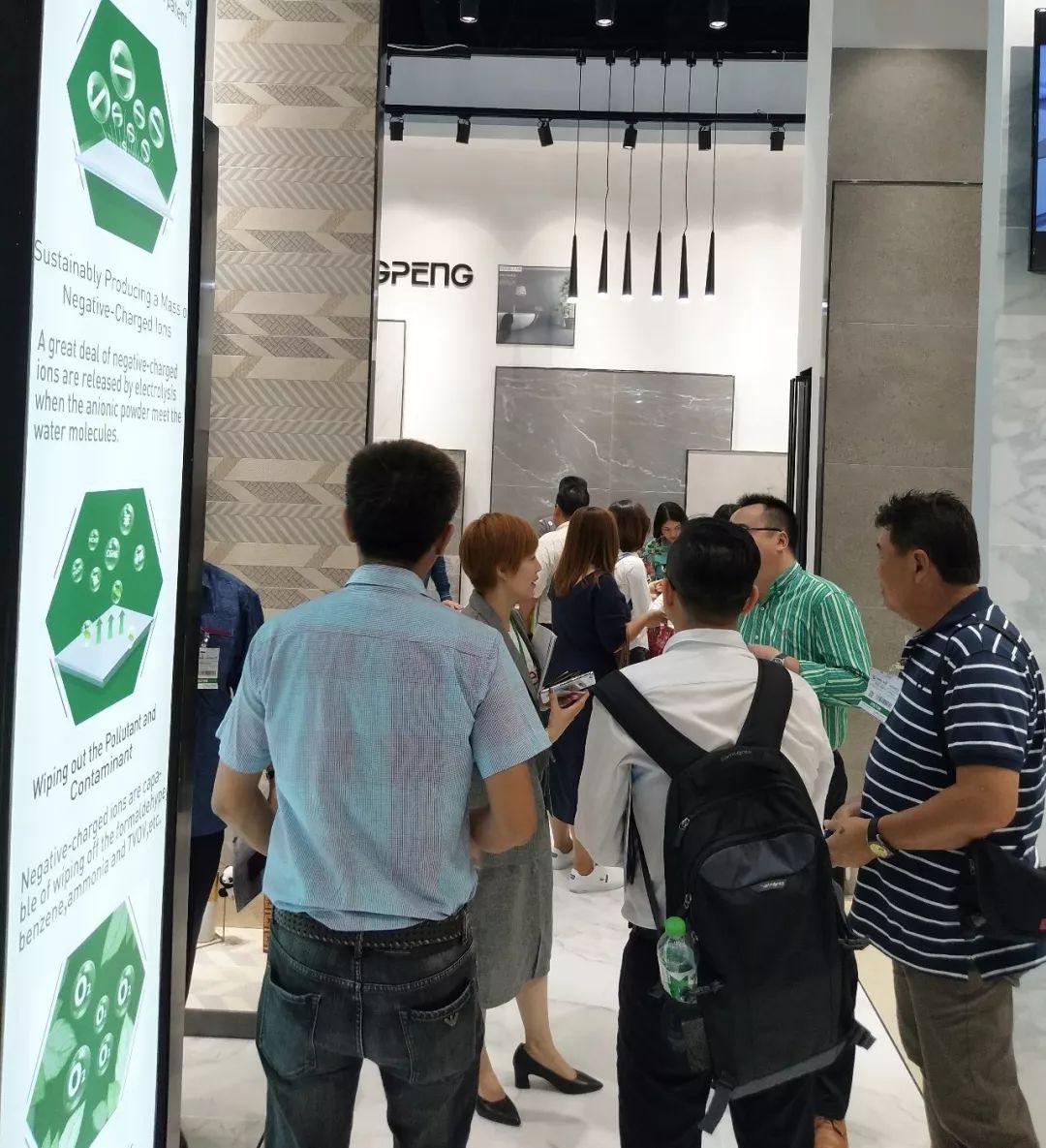 东鹏亮相第三十三届泰国曼谷国际建材展,创享绿色生活品质新体验