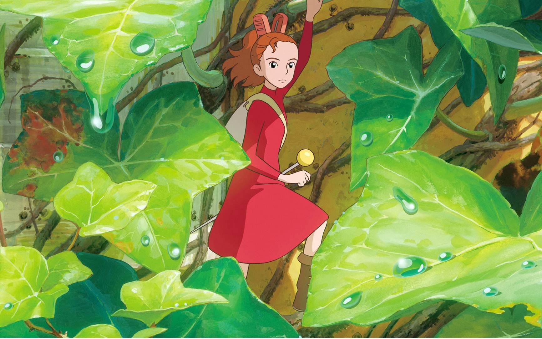 宫崎骏作品《借东西的小人阿莉埃蒂》图片
