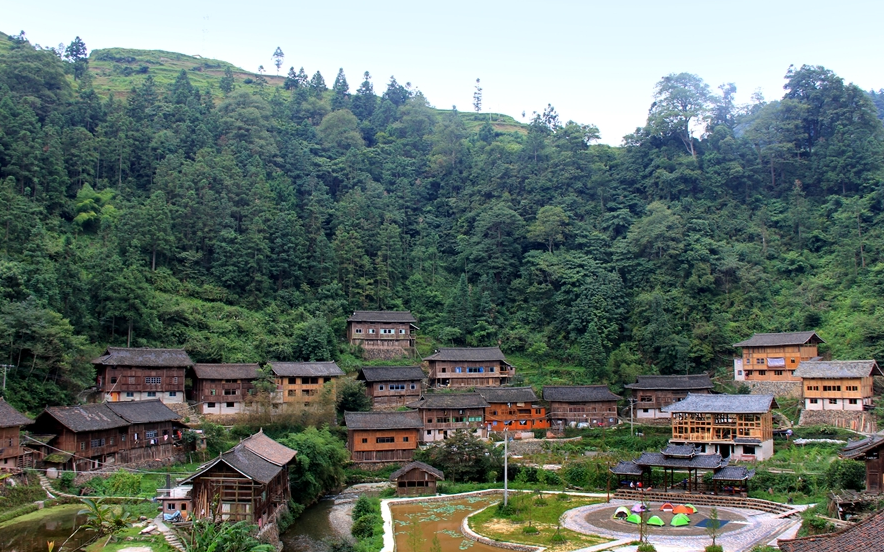 中国最古朴的苗寨,比千户苗寨原始,有种树高达50米活了上千年