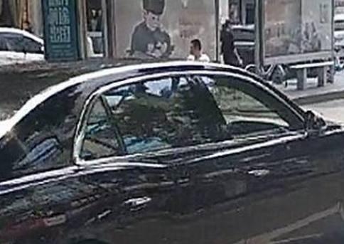 浙江偶遇一辆357万宾利,看到车牌那刻,后车车主立马拉开2米远