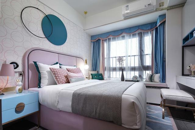 现代时尚风客厅装修装饰效果图 卧室作为休息使用的房间来说,最好是