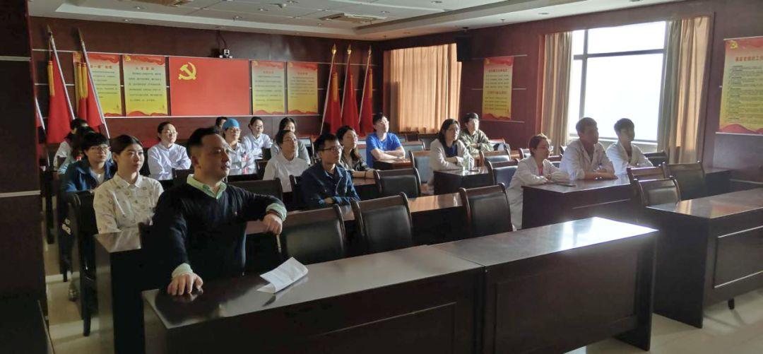 简讯 | 我院团委组织观看纪念五四运动100周年大会直播