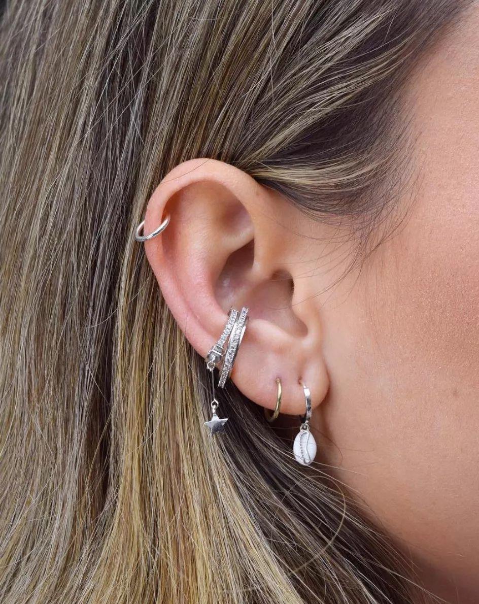 耳洞位置好看图片欣赏