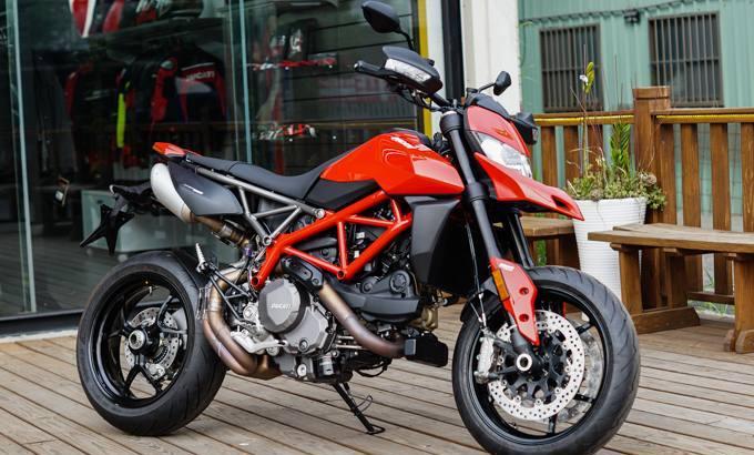 最精致的滑胎摩托车,2019款杜卡迪Hypermotard 950实车欣赏
