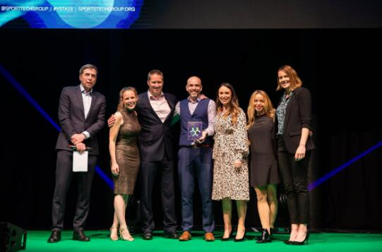 STA世界体育科技大奖伦敦揭晓 5G直播成当晚最大赢家