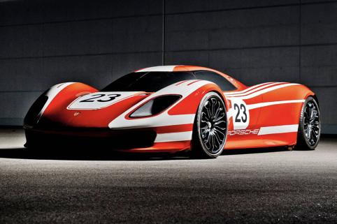 保时捷下一代旗舰超跑917 Concept长这样?