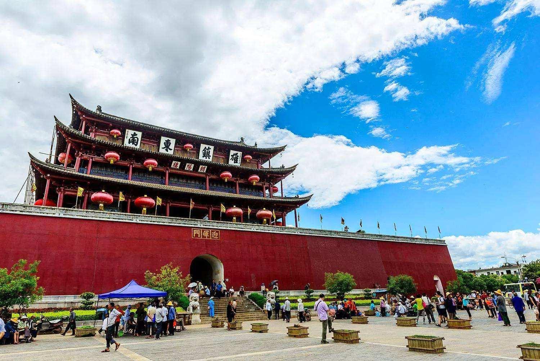 中国古迹最多的古城 保留完整的古迹达1000多处,就在云南