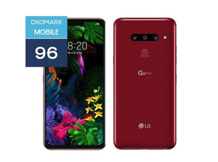 LG G8 ThinQ DxO评分公布 96分,与一加6相同