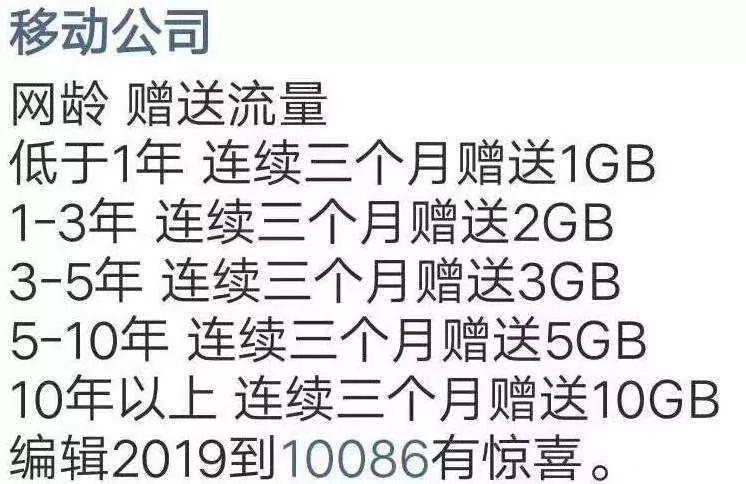 中国移动手机用户请注意!有个好消息要告诉大家…