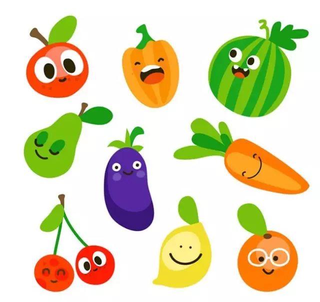 一共有多少蔬菜简笔画