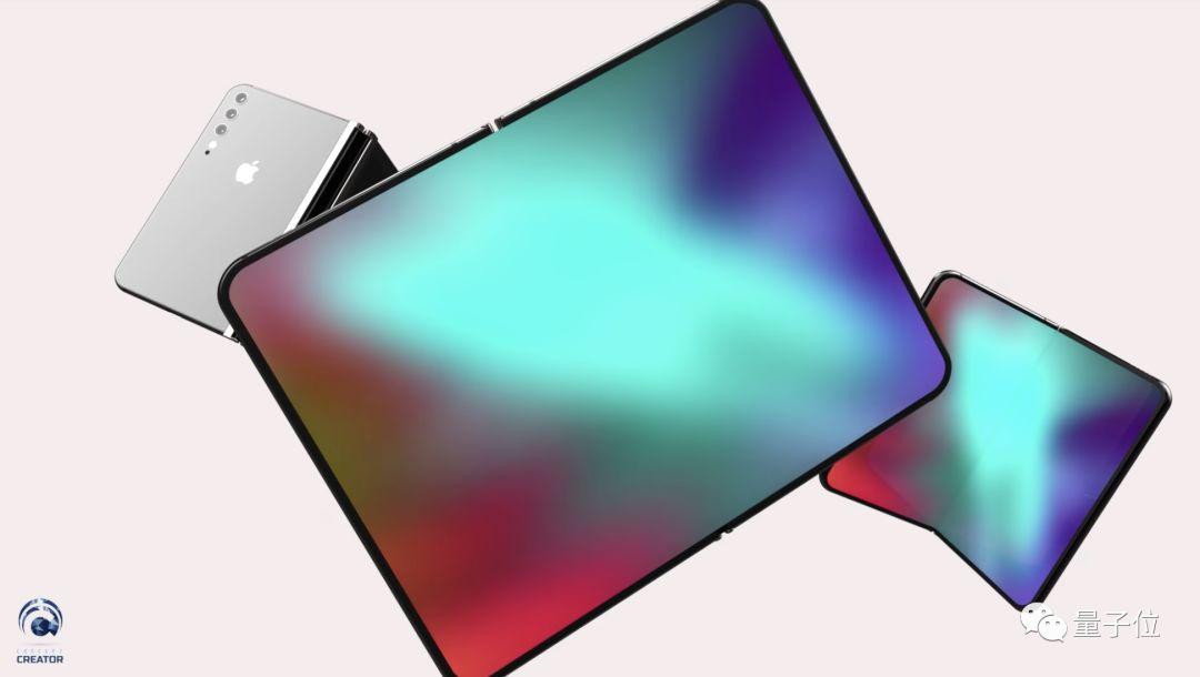 iPhone折叠屏长啥样?网友迫不及待做出一个渲染视频