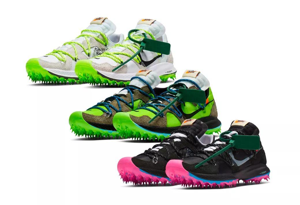 OFF-WHITE x Nike 联名新鞋来了!经典元素都有!