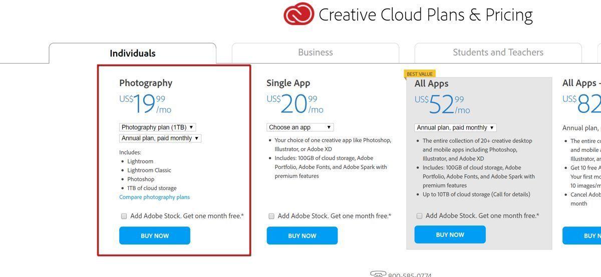 Adobe开测更昂贵的摄影计划