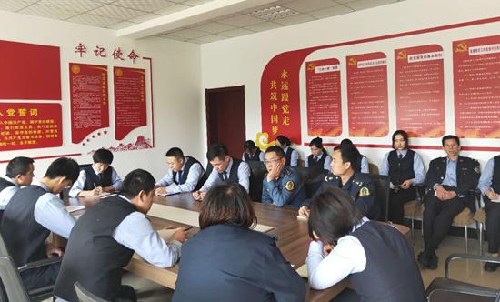 临汾北高速公路分公司北柴收费站着力提升高速公路管理法制化水平