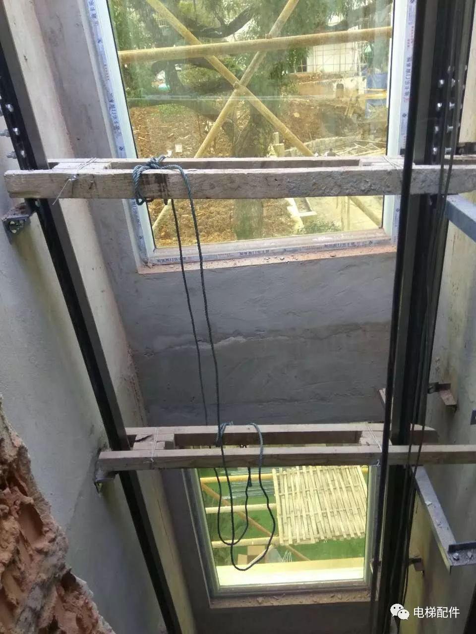 三菱无机房电梯安装图