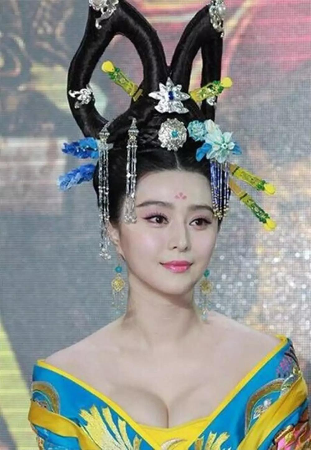 美丽才人武媚娘,李世民不爱,而李治着迷,看复原图长相原来如此