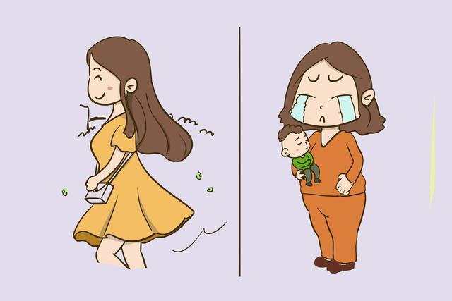 女性生娃前后有什么变化?从内到外都不一样!